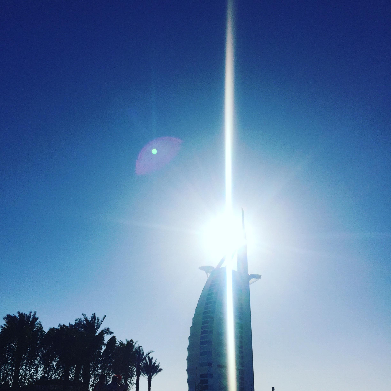 Burj al-Arab - verdens eneste syvstjernede hotel.