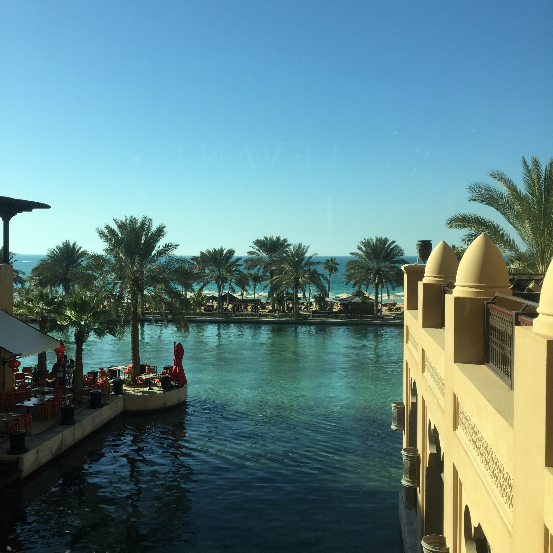 Mina A'Salam (også skønt hotel i Dubai).