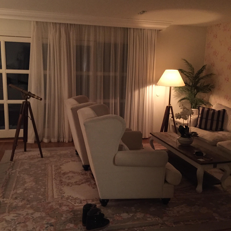 Noget at suiten, hvor vi boede på Ystad Saltsjöbad.